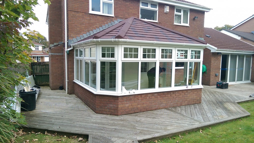 slate roof conservatory
